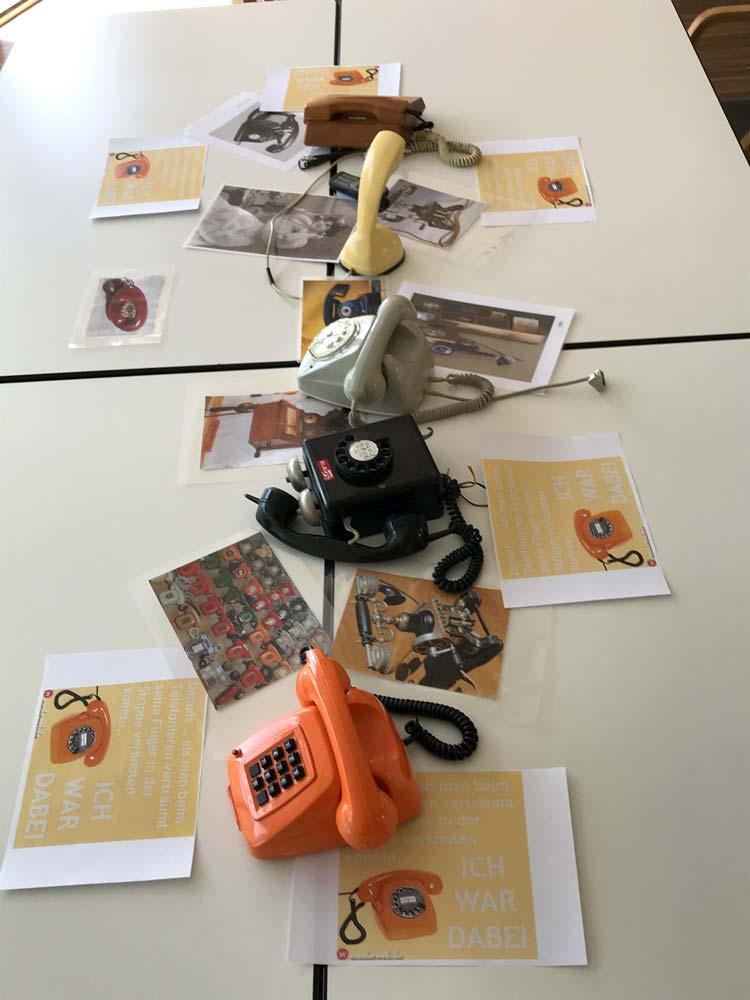 Geschichtenwerkstätte-Erzählcafe per Telefon
